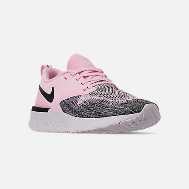 07c2ca0b0 Swarovski Bling Nike Odyssey React Flyknit 2 Women s Pink