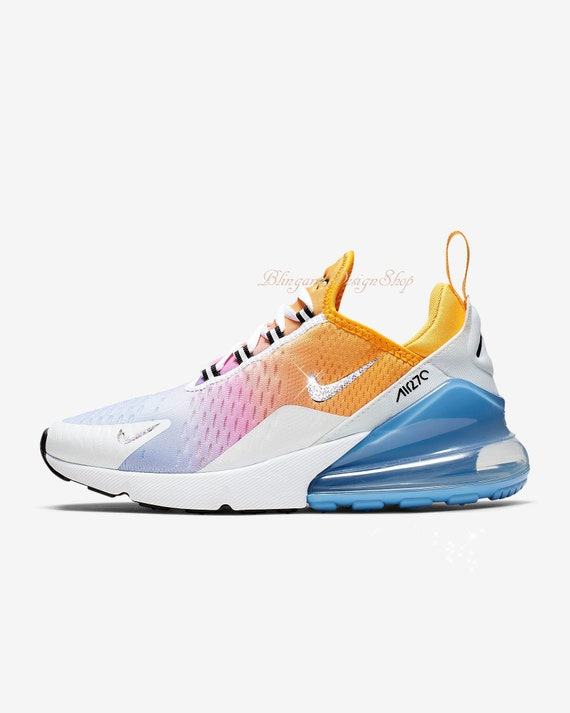 Nike Air Max 270 Kids Rainbow Color Code For Sale