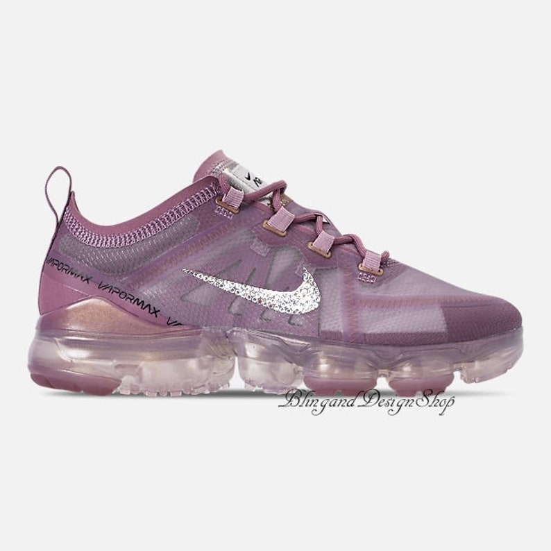 new styles 6d3af cf70c Swarovski Nike Shoes Bling Air Vapormax 2019 Customized with   Etsy