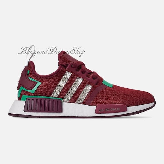 2fc83c9a9b27 Swarovski Bling Adidas Women s Adidas NMD R1 Custom with