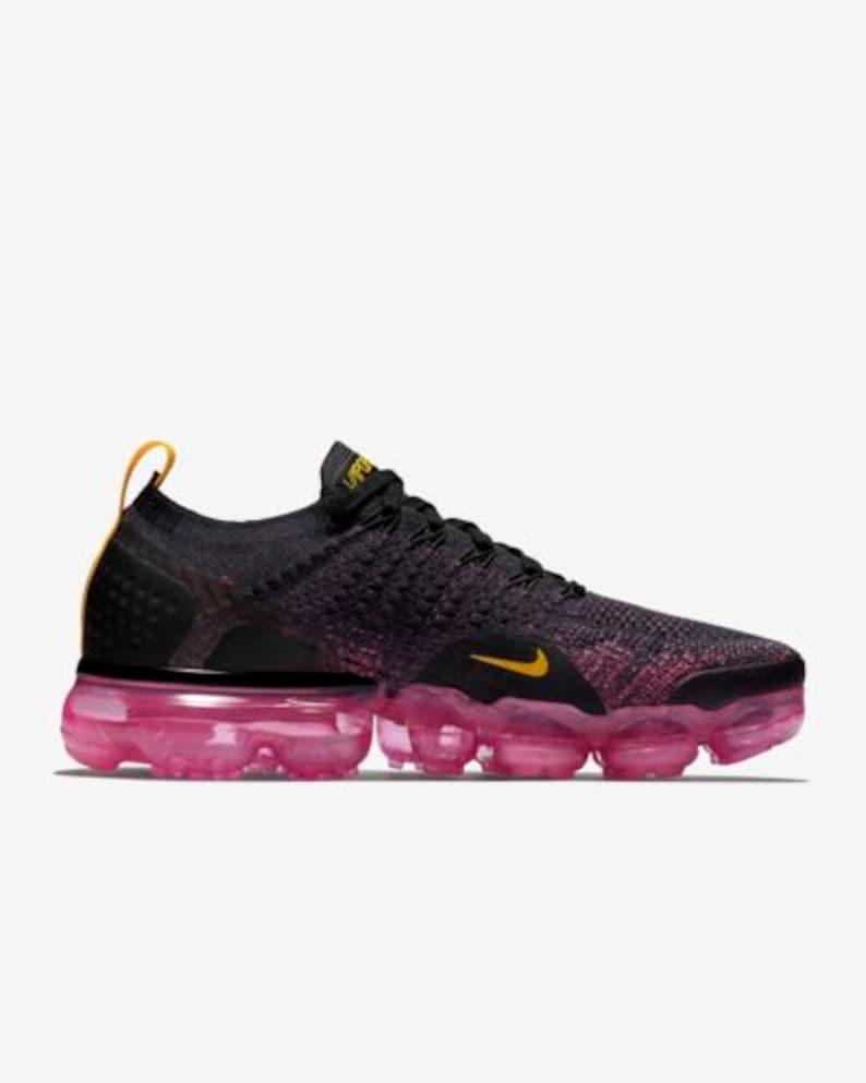 Swarovski Nike Shoes Vapormax Flyknit 2 Womens Shoes Custom  7a706fa3e1