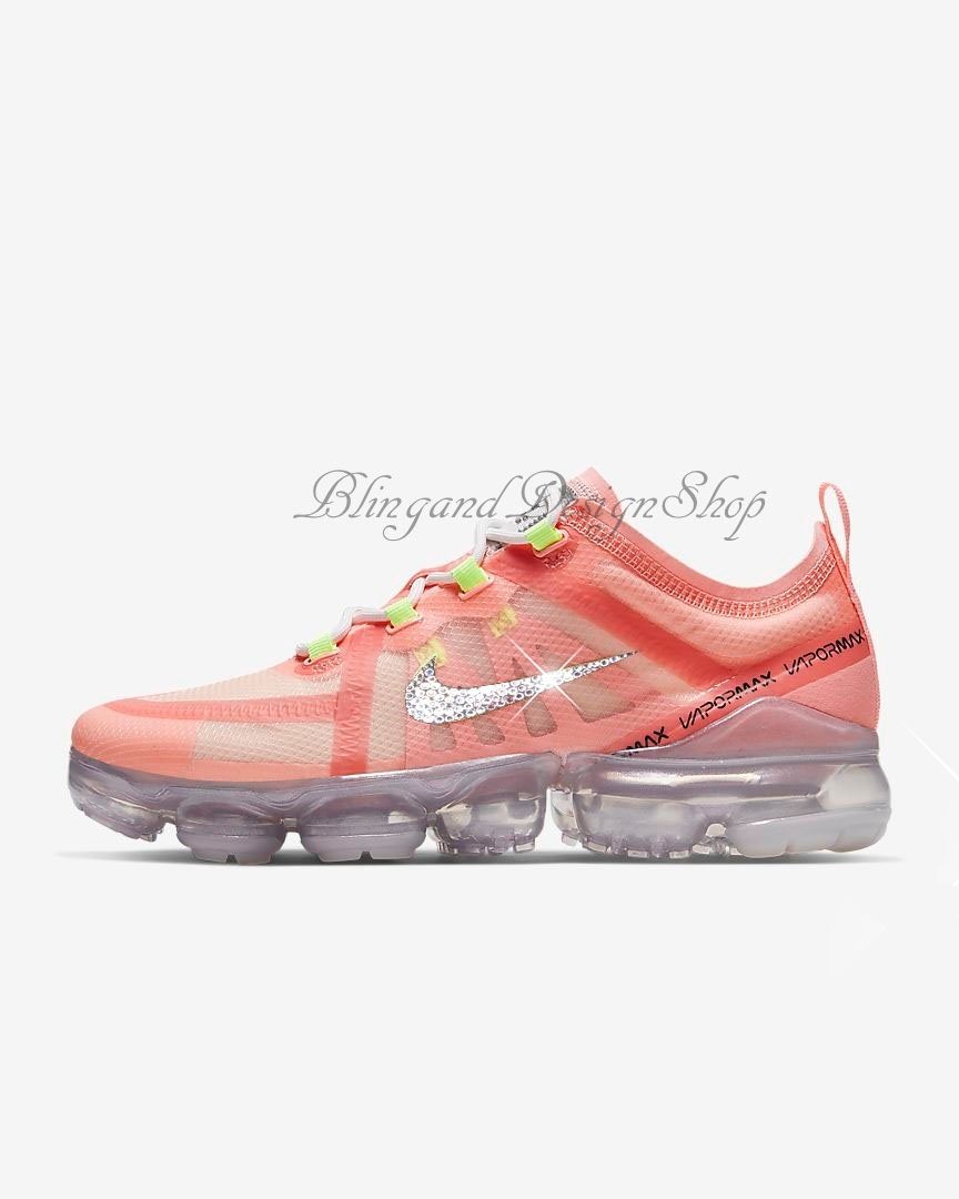 best sneakers 5750e afe79 Swarovski Women's Nike Bling Air Vapormax 2019 Customized ...