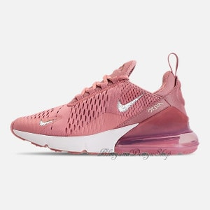 buy popular ae775 4c387 7.5 Swarovski Nike Bling Women s Air Max 270 Custom with Crystal  Rhinestones Bling Nike Shoes, Bridal Nike
