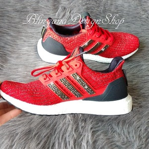58e09c3cfb717 Swarovski Adidas Womens Neo Cloudfoam QT Racer Customized with ...