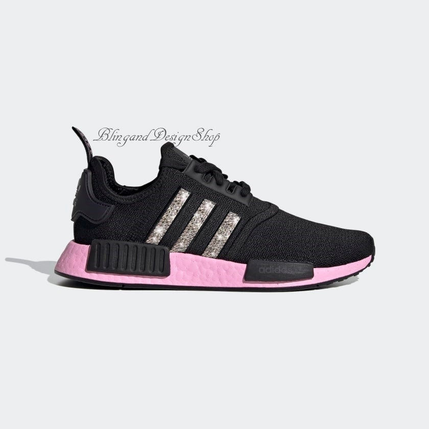 womens adidas nmd black and pink