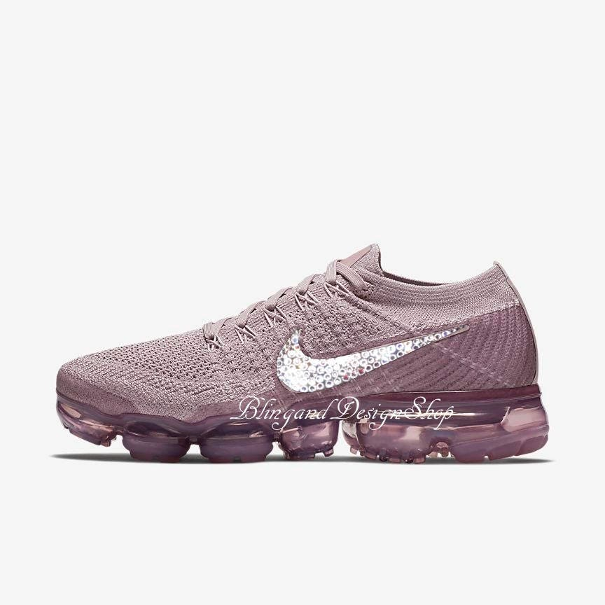 Swarovski Bling Nike Vapormax Flyknit Women's Nike Shoes Customized