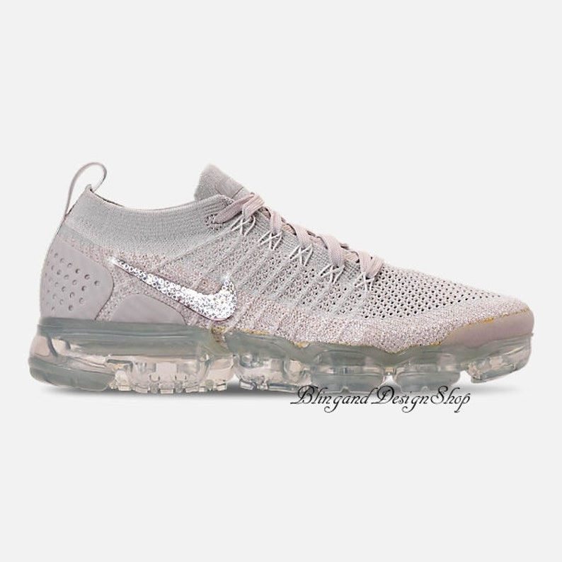 f8818d55ef83 Swarovski Bling Nike Vapormax Flyknit 2 Shoes Customized with