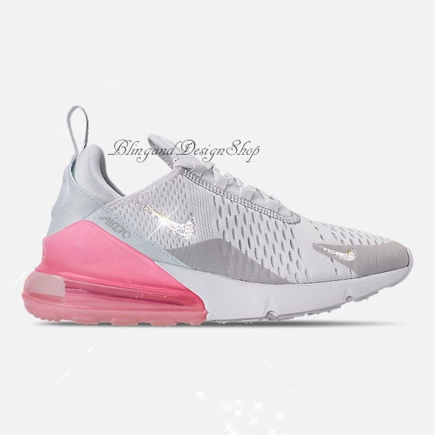 5fc0a61c2aaa5 Swarovski Nike Womens Air Max 270 Blinged out with Swarovski ...