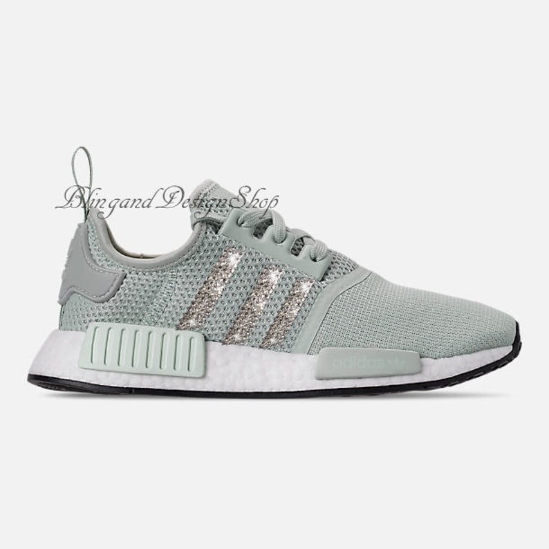 a3f1e410403 Swarovski Bling Adidas Women s Adidas NMD R1 Casual Shoes