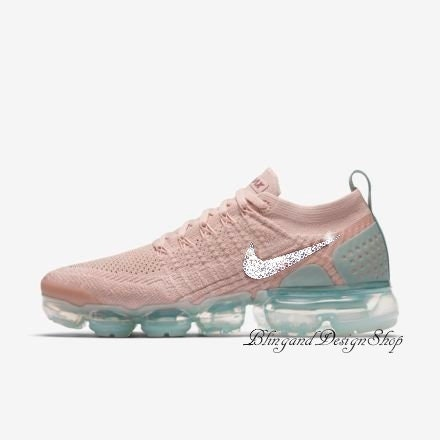 Swarovski Nike Shoes Air Vapormax Flyknit 2 Womens Shoes Customized with  Crystal Rhinestones Bling Nike Shoes c371ac7d1