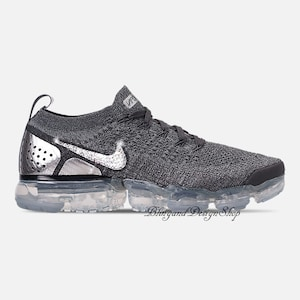 2b4c3ded984aab Bling Swarovski Nike Vapormax Flyknit 2 Shoes Customized with Crystal  Swarovski Rhinestones Bling Nike Shoes