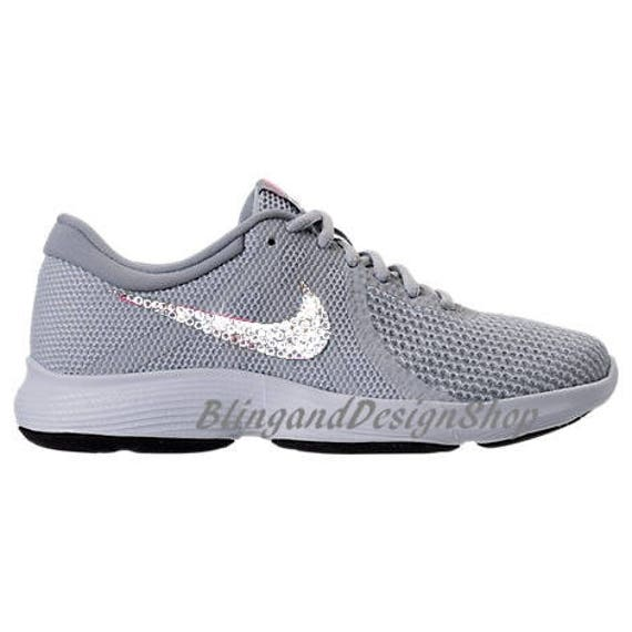 9365024c7f0 Swarovski Bling Nike Revolution 4 Women s Nike Shoes