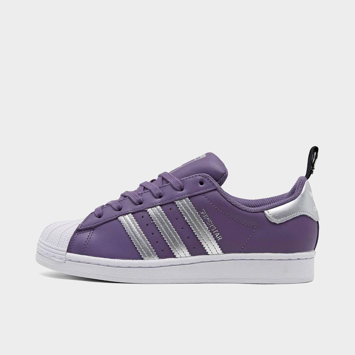 Swarovski Women's Adidas Originals Superstar Purple Sneakers ...