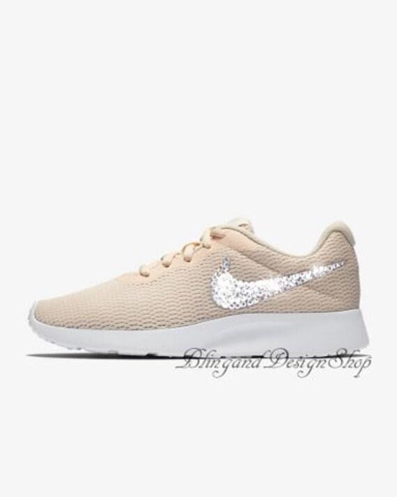 Swarovski Nike Shoes Tanjun Womens Shoes Customized with  7320b0e738