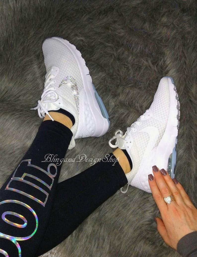 Swarovski Bling Nike Air Max Motion LW Women s Nike shoes  fee03161ff67