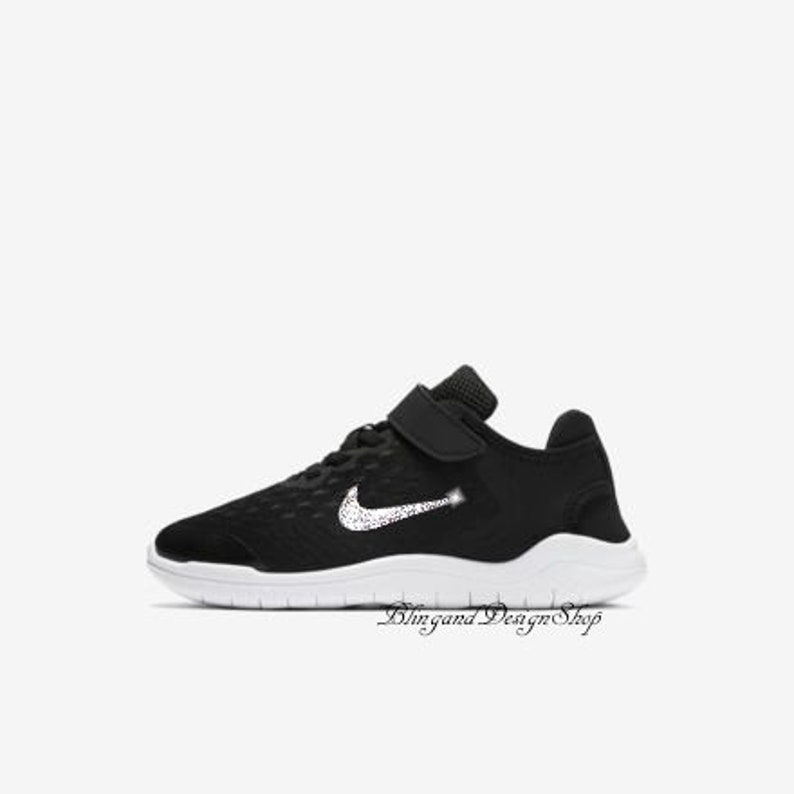 1a7e44ab16a78 Girls Swarovski Nike Shoes Free Rn Running 2018 Girls Shoes Customized with  Crys... Girls Swarovski Nike Shoes Free Rn Running 2018 Girls Shoes  Customized ...
