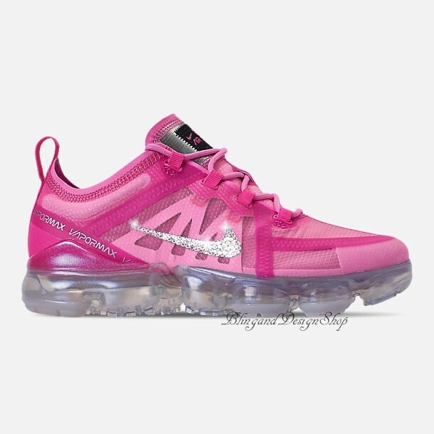 Swarovski Nike Shoes Bling Air Vapormax 2019 Customized with Swarovski  Crystal Rhinestones Bling Nike Shoes 225bcc230ae3