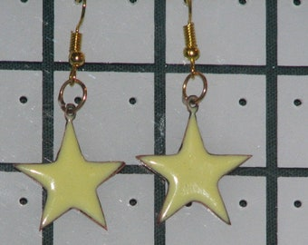 5 Pointer Star Earrings (Assorted Colours)