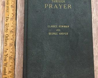 Vintage Power Through Prayer Book