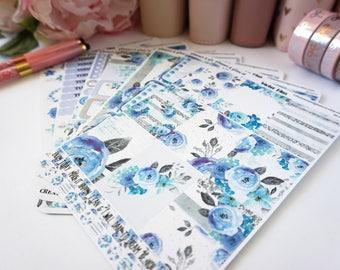 Winter Bliss - Erin Condren Vertical sticker kit