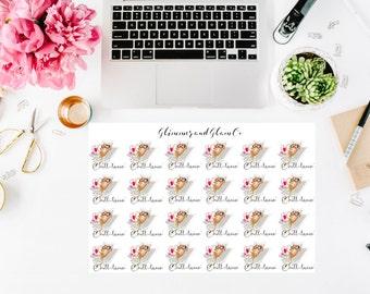 Chill-laxin'  Alfred planner stickers for EC Happy Planner Filofax Kikkik