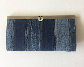 Purse/purse/purse/clutch: upcycling, jeans