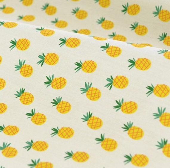 Frutas tropicales Super lindos impresión tela del patrón del | Etsy