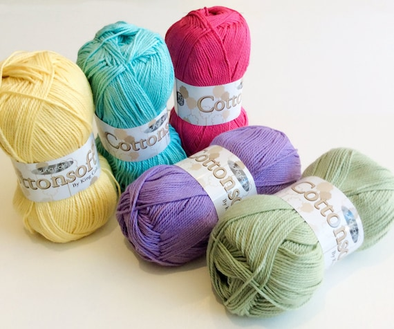 King Cole Comfort Kids DK 100g wool double knitting yarn colours to choose