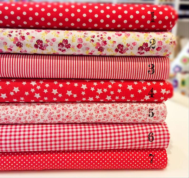 Pink Fat Quarter//Meter100/% Cotton Fabric FQStripe Stripy Basic Bunting Sew