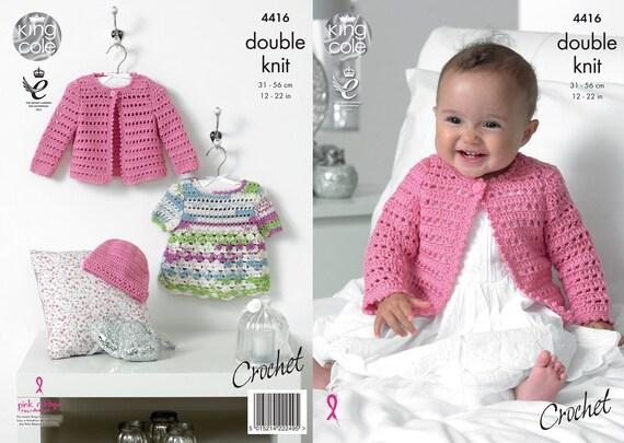 Double tricot motif boléros Cardigans Laine Chapeau prématuré de 2 ans 31-56 cm