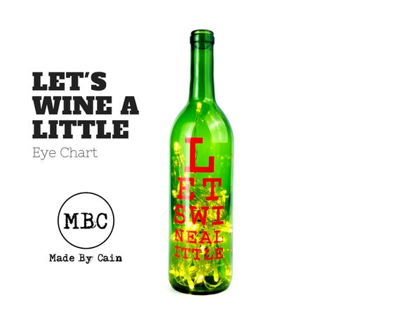 Lets Wine A Little Optometrist Optometrist Gift Etsy