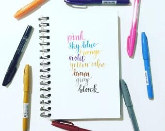 Pentel Fude Touch Sign Pen