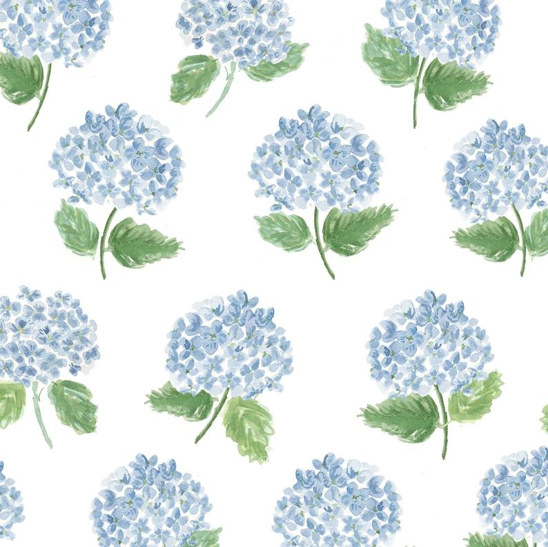 Blue Hydrangeas Gift Wrap image 0