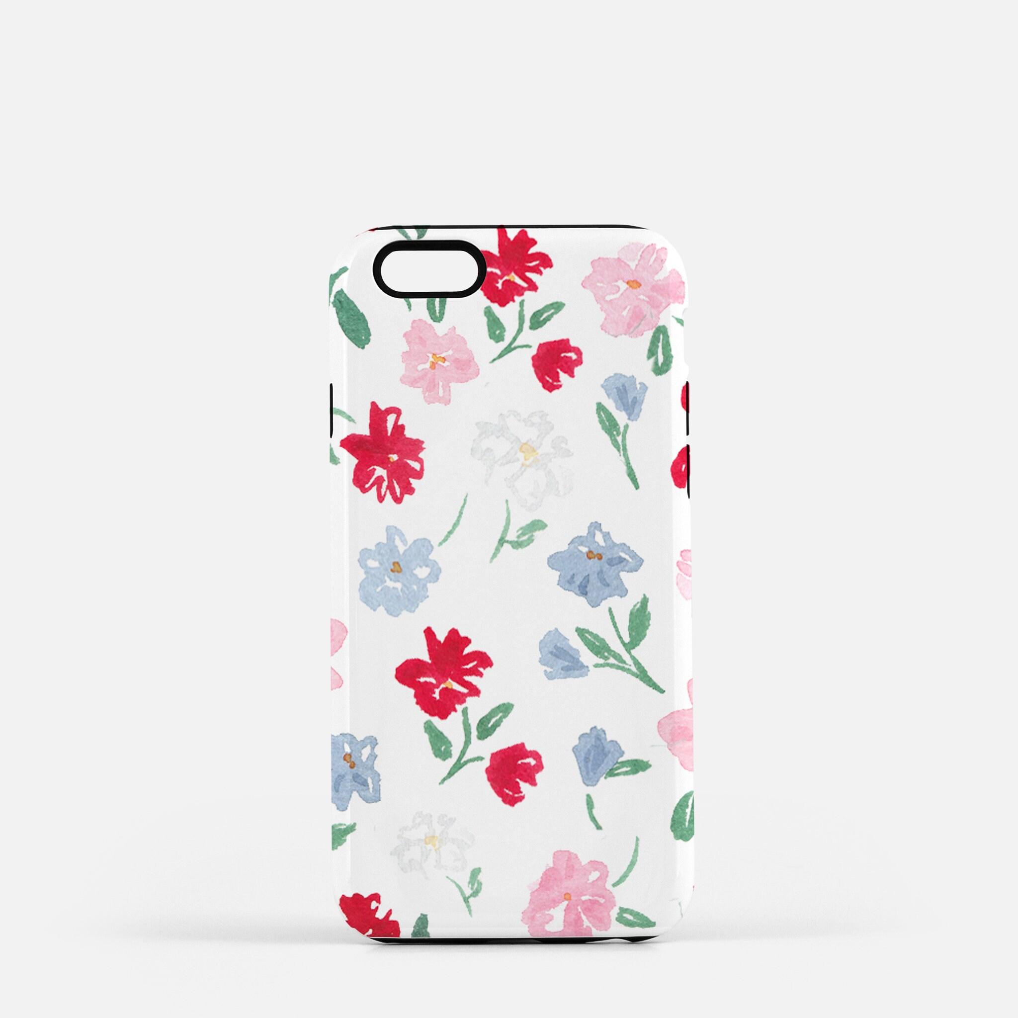 huge discount 1a3d5 f13ea Phone Case - Floral Phone Case, Cute Phone Case, Art Phone Case, Flower  Phone Case, Fashion Phone Case, Colorful Floral Art, Cute Floral Art