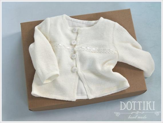 129aa0614 Boys Baptism Jacket Christening Sweater Boys Bolero Linen