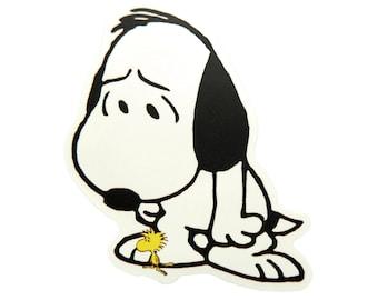 Snoopy Car Sticker Etsy