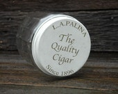 The Quality Cigar Jar, LaPalina, Cigar Storage Jar, Glass Jar