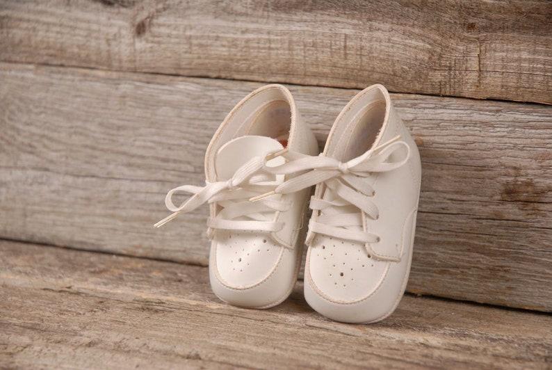 Vintage Buster Brown Infant Shoes, Vintage Baby Shoes