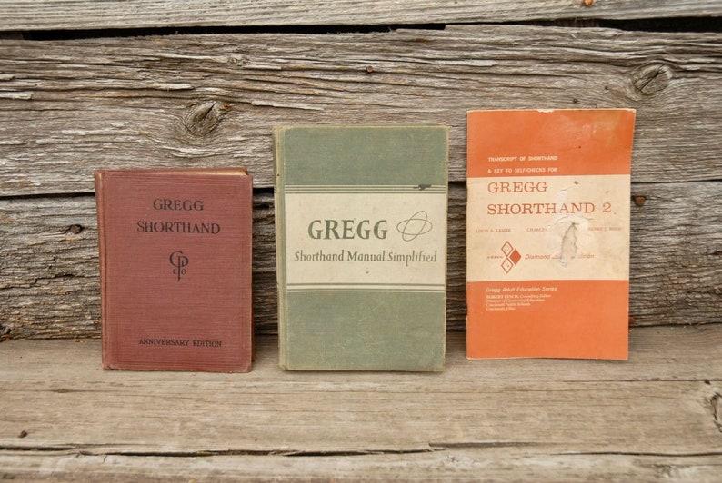 Gregg Shorthand Book