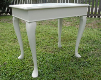 Vintage Bombay Co., Painted Cherry End Table, Side Table, Shabby Chic