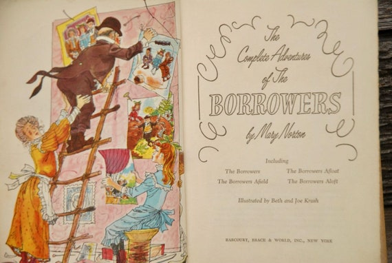 Borrowers The Complete Adventures Of The Borrowers Mary Etsy
