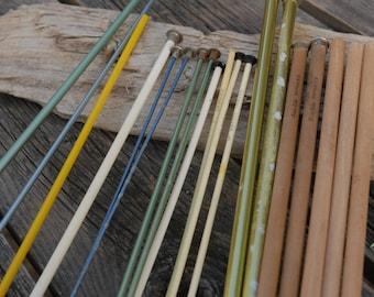 Vintage knitting needles,Misc knitting supplies