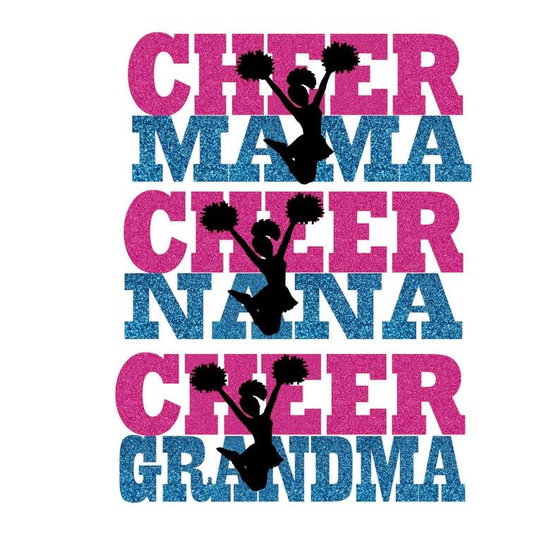 Cheer Grandma Nana Mama digital download