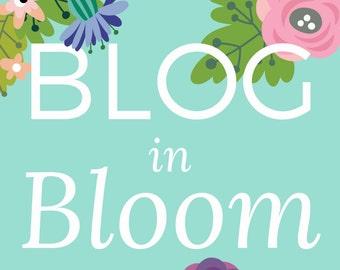 Blog in Bloom - printed workbook