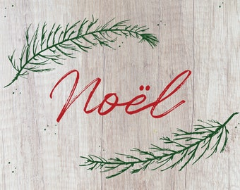 Noël Christmas Card