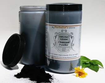 Activated Charcoal Powder 10 oz Pure, Food Grade, Ultra Fine, Hardwood