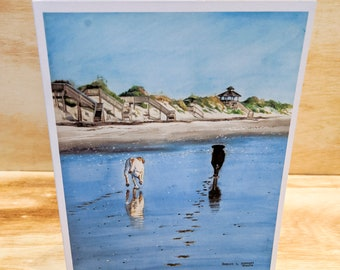Footprints Note cards