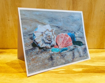 Beach Finds Note Cards