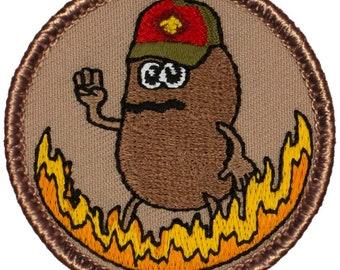 Marge Potato Iron-On Patch