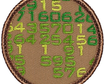 The Matrix Patch (689) 2 Inch Diameter Embroidered Patch